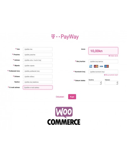 T-Com PayWay  Woocommerce Payment Gateway